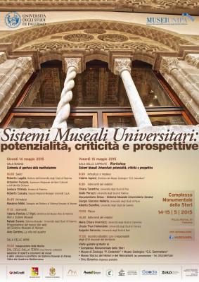 SIstemi Museali Universitari MAGGIO 2015